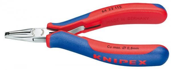 Knipex 6422115 Electronics End Cutting Nipper with multi-component grips 115 mm