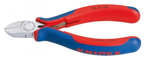Knipex 7622125 Diagonal Cutter black atramentized 125 mm