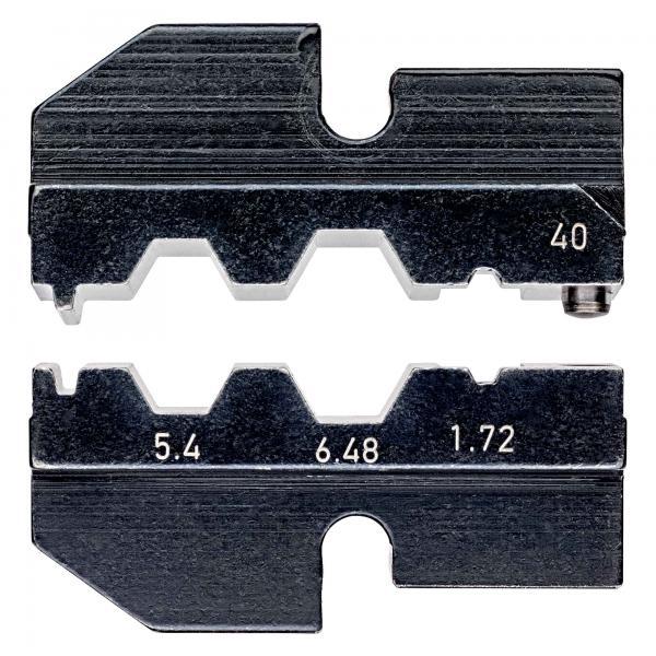 Knipex 974940 Crimping dies for Coax connectors