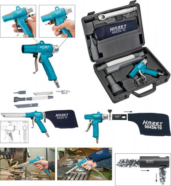 HAZET Air blow and suction gun, switchable 9043N-10
