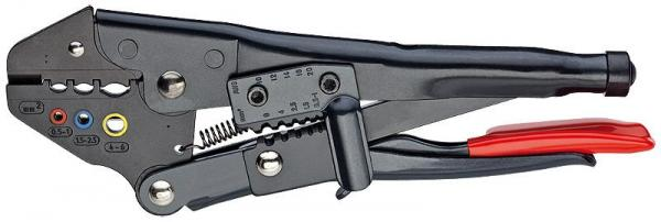 Knipex 9700215A Crimp Grip Pliers burnished 215 mm