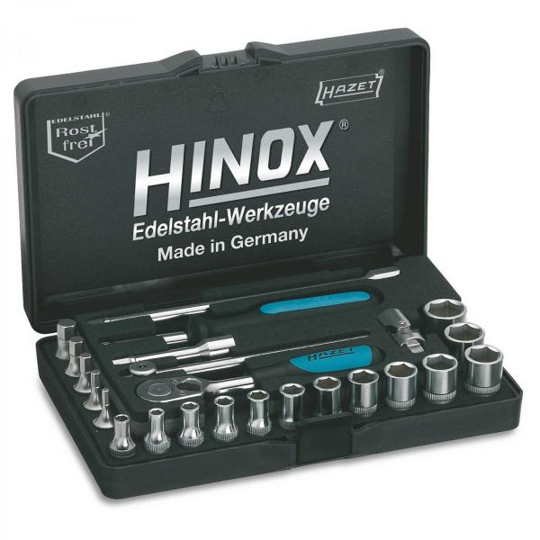 "Hazet 854X 1/4"" Socket Set (6-Point) HINOX® old version"
