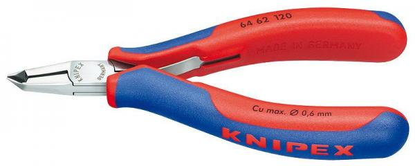 Knipex 6462120 Electronics End Cutting Nipper with multi-component grips 120 mm