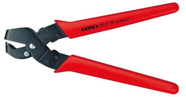 Knipex 906116 Notching Pliers burnished with plastic grips 250 mm