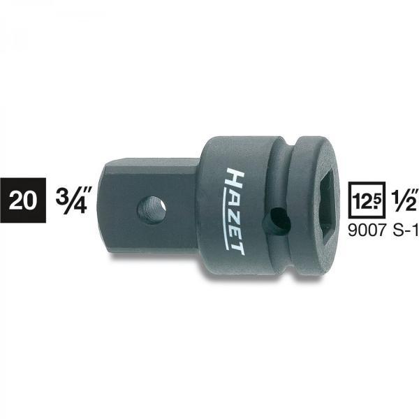 "Hazet 9007S-1 Impact Adapter 1/2"" - 3/4"""