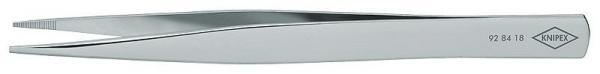 Knipex 928418 Precision Tweezers rectangular blunt 125 mm