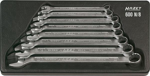 Hazet 600N/8 Combination Wrench Set