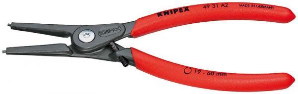 Knipex 4931A2 Precision Circlip Pliers grey atramentized 180 mm