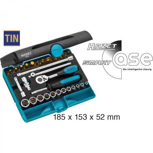 """Hazet 854 1/4"""" Socket Set (6-Point)"""