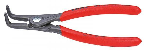 Knipex 4921A31 Precision Circlip Pliers grey atramentized 210 mm
