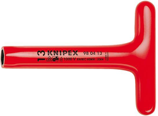 Knipex 980410 Nut Driver with T-handle 200 mm