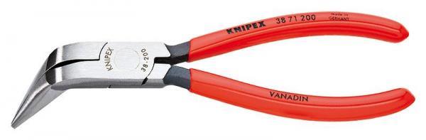 Knipex 3871200 Mechanics' Pliers black atramentized plastic coated 200 mm