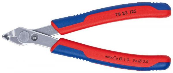 Knipex 7823125 Electronic Super Knips® with multi-component grips 125 mm