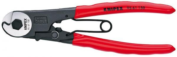 Knipex 9561150 Bowden Cable Cutter plastic coated 150 mm