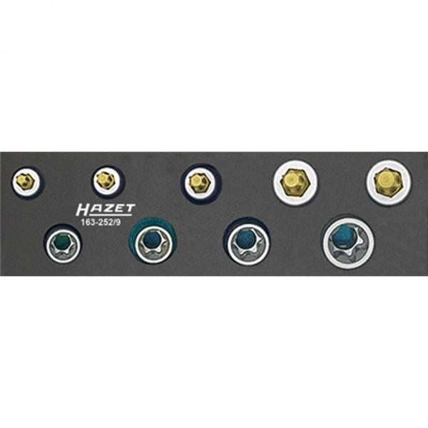 Hazet 163-252/9 TORX Tool Set