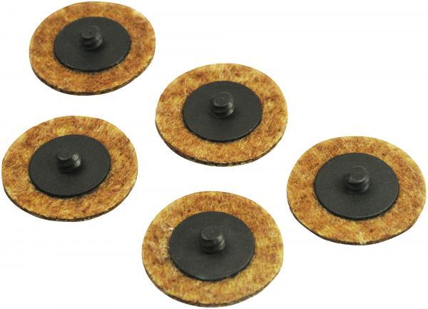 Hazet 9033-11-080/5 Abrasive material, ∅ 50 mm, 80 grain size