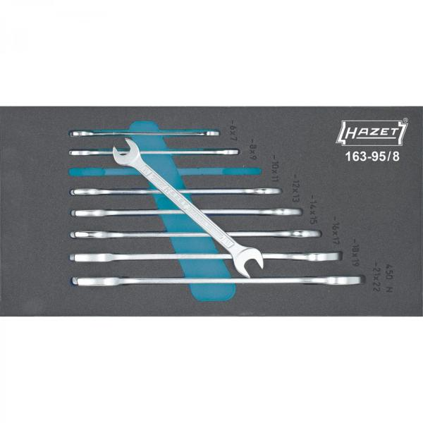 Hazet 163-95/8 Double Open-End Wrench Set