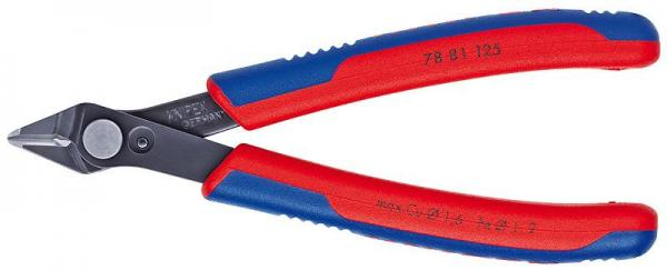 Knipex 7881125 Electronic Super Knips® burnished with multi-component grips 125 mm