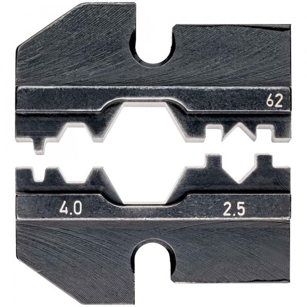 Knipex 974962 Crimping dies for solar cable connectors (Huber + Suhner)