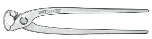 Knipex 9904220 Concreters' Nipper (Concreter's Nippers or Fixer's Nippers) nickel plated 220 mm