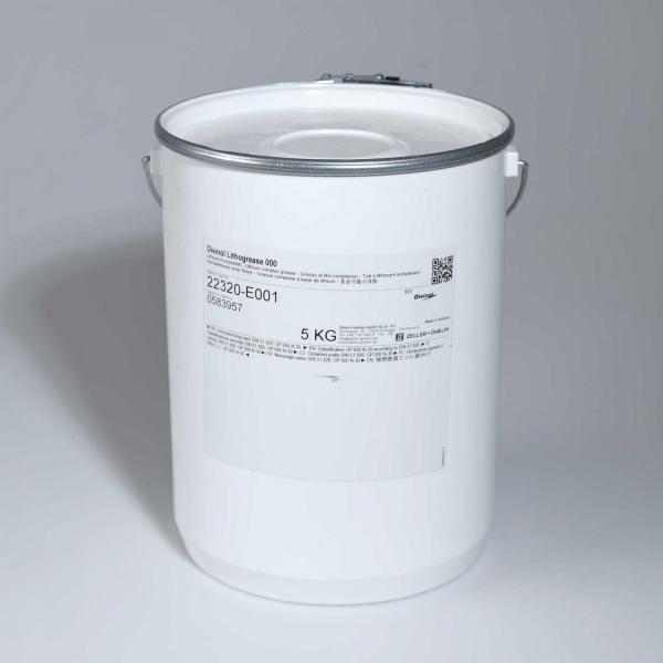 Divinol Lithogrease 000 DMG 27078178 5 Liter