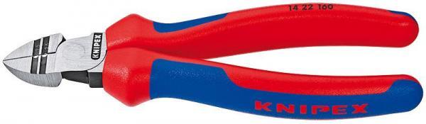 Knipex 1422160 Diagonal Insulation Stripper black atramentized 160 mm