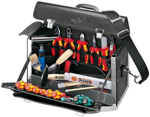 Knipex 002101TL Tool Bag 24 parts for electrical contractors, top model