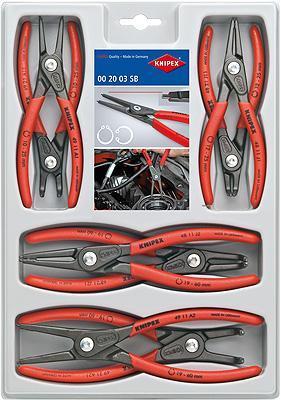 Knipex 002004SB Precision Circlip Pliers Set