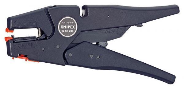 Knipex 1250200 Self-Adjusting Insulation Stripper 200 mm