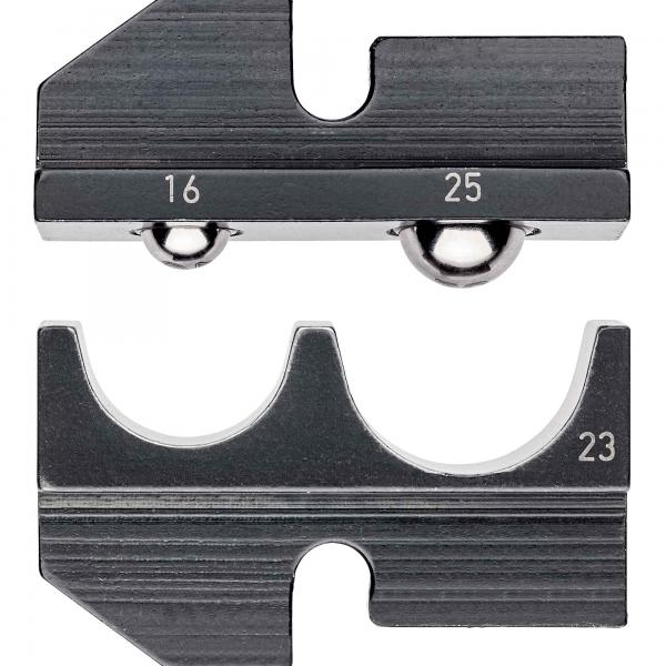 Knipex 974923 Crimping dies for non-insulated terminals + plug connectors