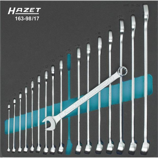 Hazet 163-98/17 Combination Wrench Set