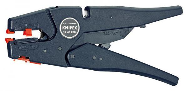 Knipex 1240200 Self-Adjusting Insulation Stripper 200 mm
