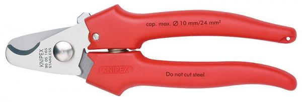 Knipex 9505165 Cable Shears plastic coated 165 mm