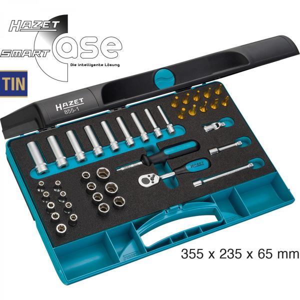 """Hazet 855-1 1/4"""" Socket Set (6-Point)"""