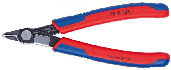 Knipex 7841125 Electronic Super Knips® burnished with multi-component grips 125 mm