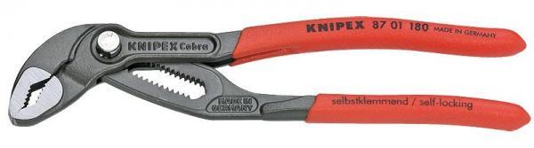 Knipex 8701180 KNIPEX Cobra® grey atramentized 180 mm