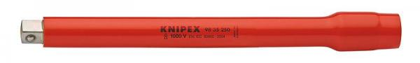 "Knipex 9835250 Extension Bar with internal/external square 3/8"" 250 mm"