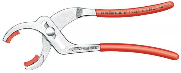 Knipex 8113230 Pipe Gripping Pliers chrome plated 230 mm