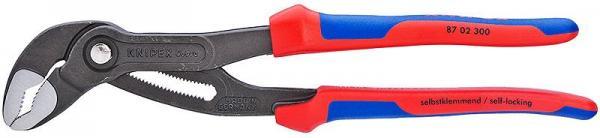 Knipex 8702300 KNIPEX Cobra® grey atramentized 300 mm