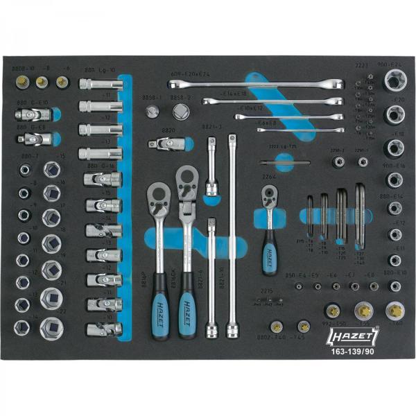 Hazet 163-139/90 Socket Set