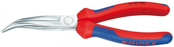 Knipex 2625200 Snipe Nose Side Cutting Pliers chrome plated 200 mm