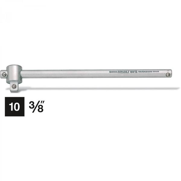 Hazet 8815 Sliding T-Handle · Square, solid 10 mm (3/8 inches) · l: 198 mm