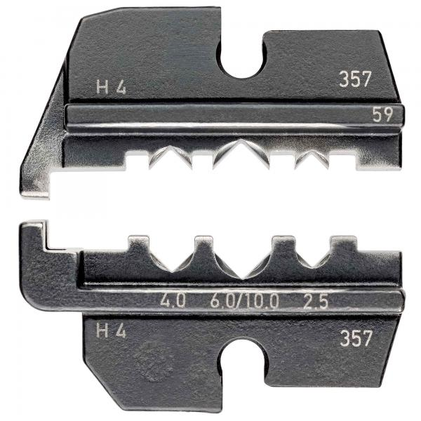 Knipex 974959 Crimping dies for solar cable connectors Helios H4 (Amphenol)