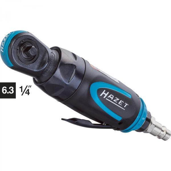 HAZET Mini air ratchet 9020P-2 ∙ Square, solid 6.3 mm (1/4 inch)