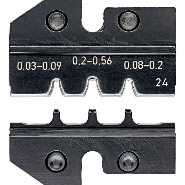 Knipex 974924 Crimping dies for D-Sub-plugs
