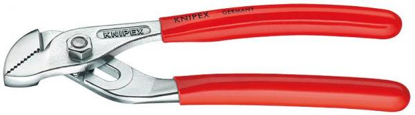 Knipex 9003125 Mini Water Pump Pliers with groove joint chrome plated plastic coated 125 mm