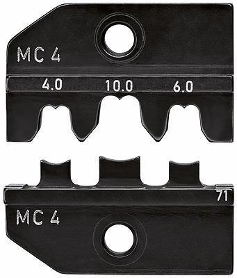Knipex 974971 Crimping dies for solar cable connectors MC4 (Multi-Contact)