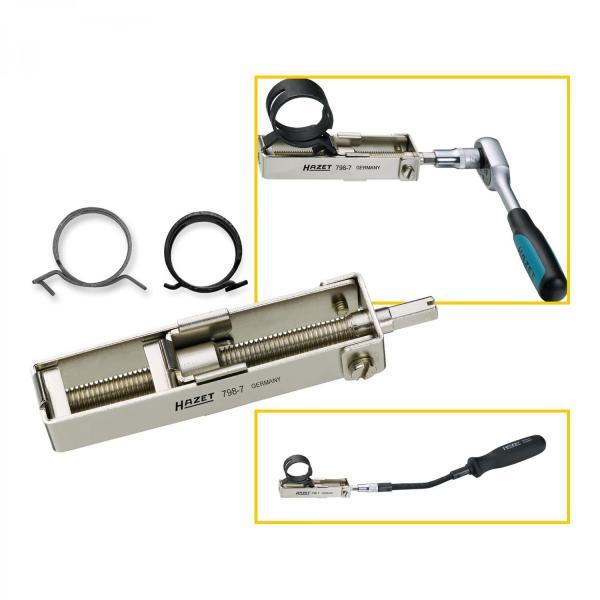 Hazet 798-7 Hose Clamp Pliers for spring band hose clamps