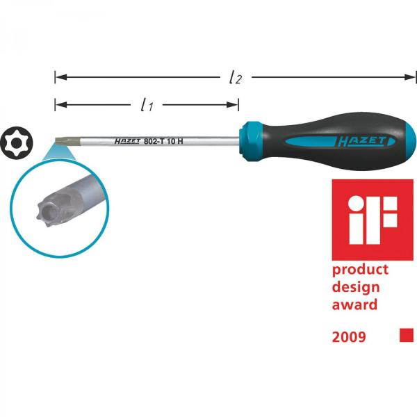 Hazet 802-T27H HEXAnamic® TORX® Screwdriver
